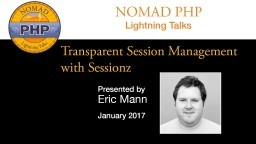 Transparent Session Management with Sessionz