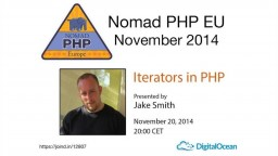 Iterators in PHP