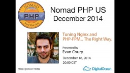 Tuning Nginx and PHP-FPM… The Right Way