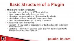Advanced WordPress: Plugin Creation