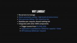 PHP on Lambda with Custom Runtimes