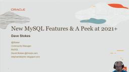 MySQL 8.0 New Features
