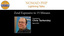 Zend Expressive in 15 Minutes